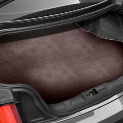 For Fiat 124 71-83 Carpeted Burgundy Cargo Mat W/o Battery Cutout