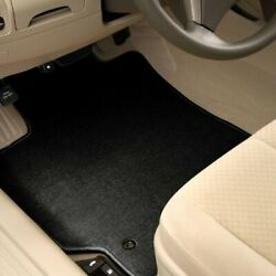 For Scion Tc 05-10 Carpeted 1st And 2nd Row Black Floor Mats
