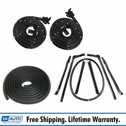 Weatherstrip Seals Kit Set For 65 Buick Chevy Pontiac Oldsmobile Convertible