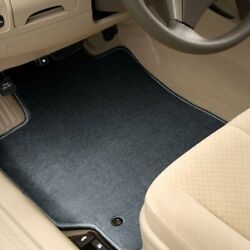 For Mercedes-benz E500 10-16 Carpeted 1st And 2nd Row Steel Gray Floor Mats