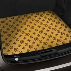 For Chrysler Concorde 93-97 Fashion Auto Mat Carpeted Terracotta Cargo Mat
