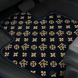 For Ford 1/2 Ton Pickup 35-39 Fashion Auto Mat Carpeted 1st Row Onyx Floor Mats