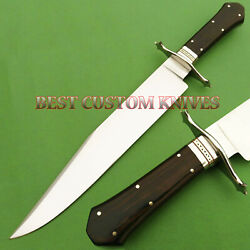 17 Stunning Custom Made Hand Forged D2 Tool Steel Combat Fancy Bowie Knife