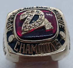 Solid 10k Gold 2006 Appalachian League Champions Ring Size 12 42.7 Grams