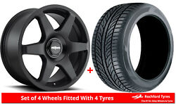 Alloy Wheels And Tyres 19 Rotiform Six For Infiniti M45 [mk1] 03-04