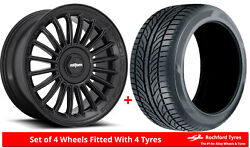 Alloy Wheels And Tyres 19 Rotiform Buc-m For Infiniti M45 [mk2] 04-10