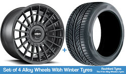 Rotiform Winter Alloy Wheels And Snow Tyres 20 For Ford Explorer [mk6] 20-20