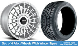 Rotiform Winter Alloy Wheels And Snow Tyres 18 For Infiniti M45 [mk2] 04-10