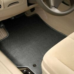 For Saab 9-3 Griffin 12 Carpeted 1st And 2nd Row Charcoal Floor Mats