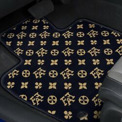 For Scion Tc 05-10 Fashion Auto Mat Carpeted 1st And 2nd Row Onyx Floor Mats