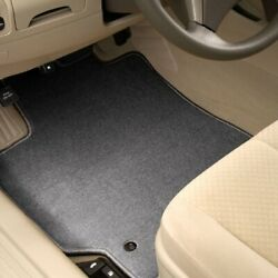 For Morgan Plus 8 72-76 Carpeted 1st Row Quick Silver Floor Mats