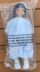Strasburg 18 African Indian American Girl Size Doll In Smocked Easter Dress New