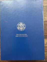 1986 Us Mint Prestige Set, With Silver Liberty Dollar And 6 Other Proof Coins