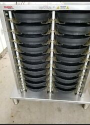 Cambro Mdscdc9x1 Plate Warmer. Works Perfect. Comes With 50 Base Cambro Plates