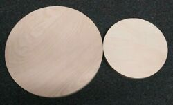 12 18 Wooden Circle - 1/2 Inch Thick Birch - Diy Round Art Signs Cake Stands
