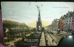 Antique Postcard From Edinburgh By Durle Brown And Co - Posted -andnbsp Free Postage