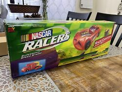 Vintage 1999 Nascar Racers Race Canyon Track Set Hot Wheels New In Box Fox Toys