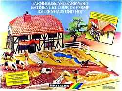 Britains 4712 Farmhouse And Farmyard - Mint In Box - Made In England 1988