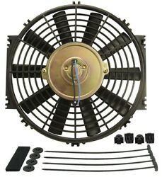 Derale 10in Dyno Cool Straight Blade Electric Fan