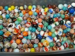 Special 750 Marbles Jabo - Champion Agate- Marble King Nice Variety