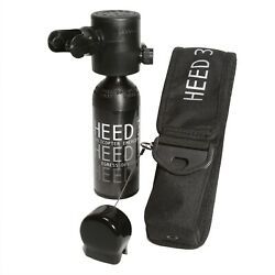 Spare Air Heed 3 Military Navy Pilot Safety Egress Tank 1.7 Cu And Refill Adapter