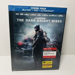 The Dark Knight Rises Blu-ray/dvd 2012 Target Exclusive Digibook