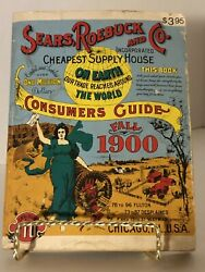 Sears Roebuck And Co 1900 Reproduction Catalog Consumers Guide Fall 1900 Vintage