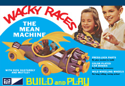 125 Wacky Races Mean Machine Figures Snap Mpc Model Kit Dick Dastardly Muttley