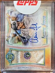 2018 Topps Gypsy Queen Aaron Judge Od Base On-card Auto /20 Yankees Hologram