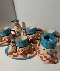 Mitford Snowman Collection By Hallmark Snacking Drinking Entertaining