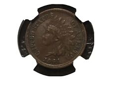1864-l Indian Head Penny Ngc Xf 45 Looks Higher Grade