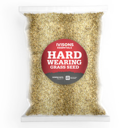 Ivisons Premium Front And Back Lawn Grass Seed Resilient Robust Garden Mix