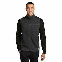 New Mens The North Face Sweater Vest Fleece Full Zip Jacket Coat $37.59