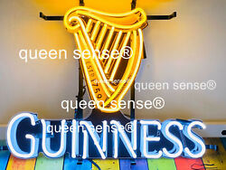 New Guinness Harp Beer Light Lamp Neon Sign 24 With Hd Vivid Printing