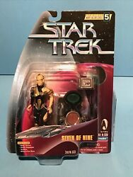 Star Trek Voyager Playmates Assimilated Seven Of Nine Action Figure New Nm