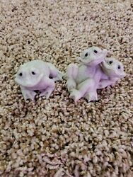 3 Quarry Critters - Second Nature Design Fran New And Fric And Frac Guc