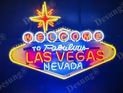 New Welcome To Fabulous Las Vegas Nevada Lamp Neon Sign 24 With Hd Vivid