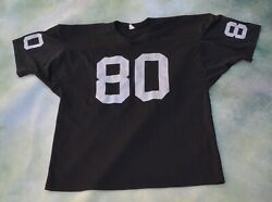 Vintage Rare Nfl Oakland Raiders Jerry Rice 80 Jersey Size Xl__made In Usa.