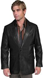 Scully Menand039s Lamb Leather Blazer Regular - 501-189