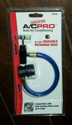 Certified A/c Pro Auto Air Conditioning R-134a Reusable Recharge Hose - Cert401