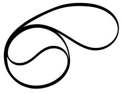 Turntable Drive Belt - For The Sherwood Tp-6850