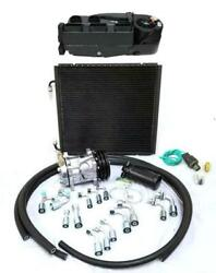 Gearhead Mini Ac Heat Defrost Air Conditioning Kit W/ Fittings Compressor Hoses