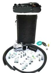 Gearhead Super Air Conditioning Ac Heat Defrost Kit W/ Compressor Fittings Hoses