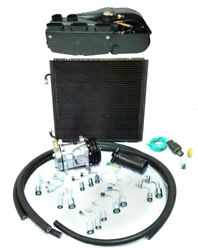 Gearhead Compac Ac Heat Defrost Air Conditioning Kit W Fittings Compressor Hoses