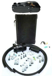 Gearhead Compac Ac Heat Defrost Air Conditioning Kit + Fittings Compressor Hoses