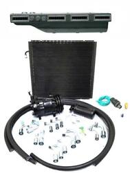 Gearhead Slimline Ac Heat Defrost Air Conditioning Kit + Compressor And Fittings