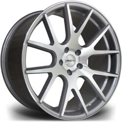 Alloy Wheels Wider Rears 20 Riviera Rv185 For Merc S-class S63 Amg W221 07-13
