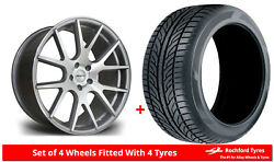 Alloy Wheels And Tyres 20 Riviera Rv185 For Mercedes Clk-class [a209/c209] 02-09