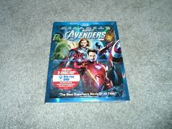 Marvels The Avengers Blu-ray And Dvd Brand New