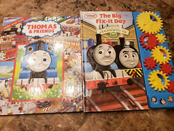 Thomas And Friends The Big Fix It Day Sound Book + Look And Find
